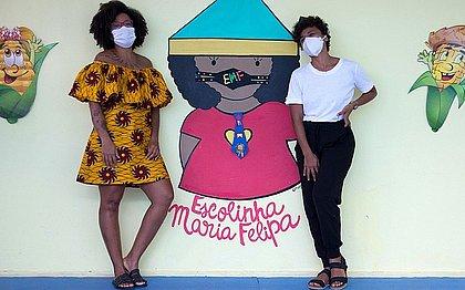 Bárbara Carine e Maju Passos criaram um espaço capaz de fortalecer crianças, dentro de uma perspectiva emancipadora e diversa