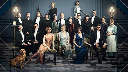 O elenco do filme de 2019 trouxe a família Crawley para novas aventuras