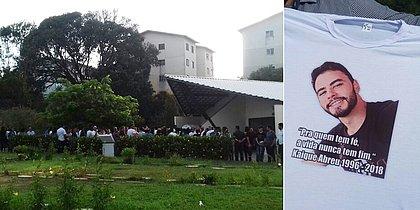 Parentes se despedem de universitário morto após agressão na Graça