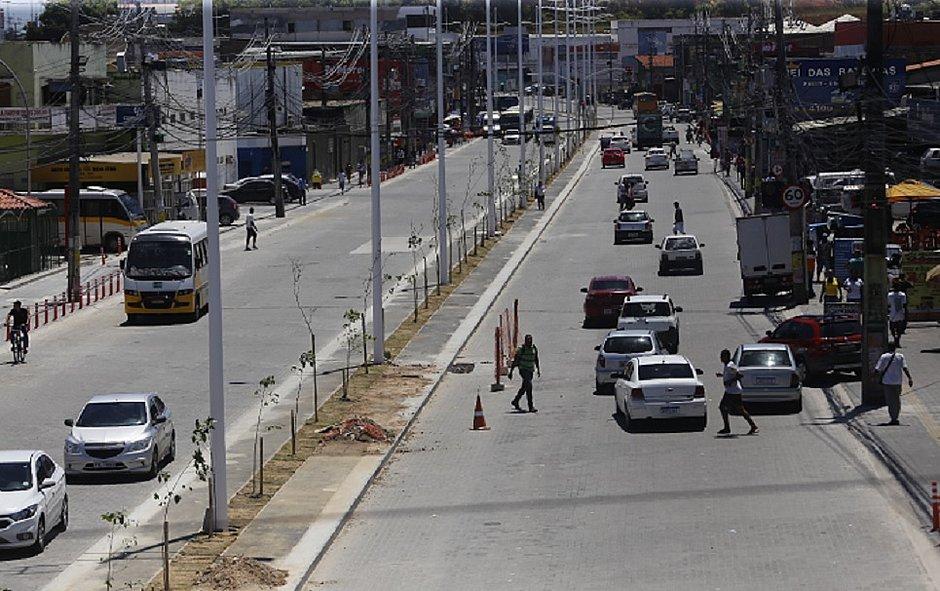 Nova Avenida São Cristóvão será entregue nessa segunda-feira