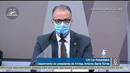 Barra Torres confirma reunião no Planalto para discutir mudança na bula da cloroquina