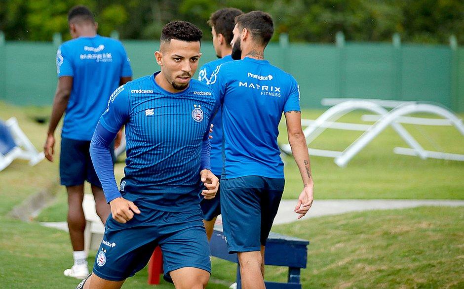 Flávio afirmou que está motivado para ajudar o Bahia a vencer o Nordestão 2020