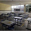 Alguns colégios estaduais já estão prontos para o retorno