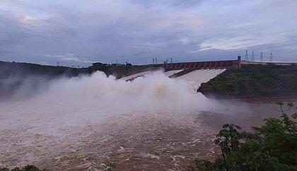 Usina de Itaipu bate recorde de energia para o mês de janeiro