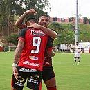 Carleto e Léo Ceará marcaram na goleada do Vitória sobre o River-PI por 4x1