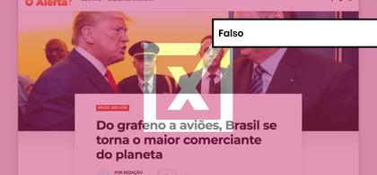É falso que Brasil tenha se tornado o maior exportador do mundo; país ocupa 26ª posição