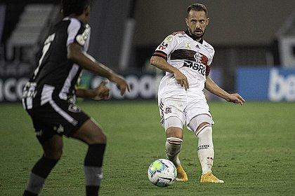 Éverton Ribeiro, autor do gol do Flamengo no clássico contra o Botafogo