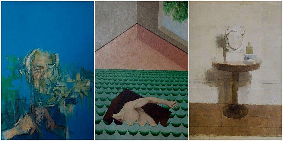 A exposição reúne obras de 16 artistas modernistas ingleses
