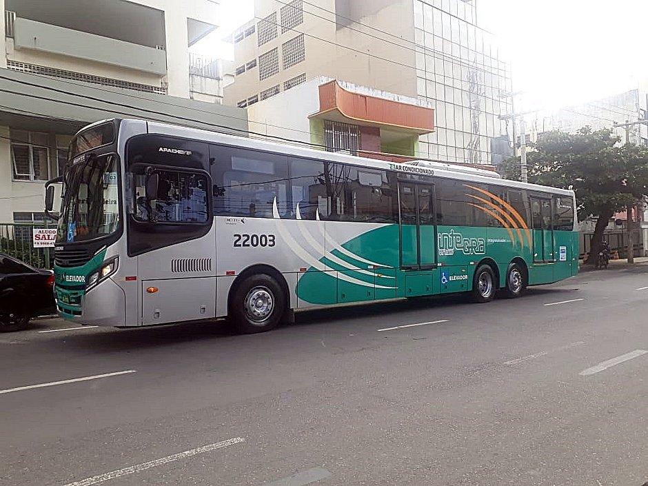 Ônibus é testado em Salvador para o BRT