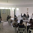 Por falta de salas, coordenação chegou a sugerir que alunos fizessem a prova em mesa com outros três participantes