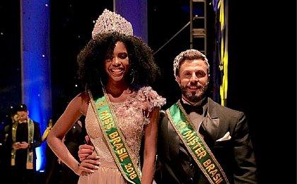 Modelo que desfilou no Afro Fashion Day é eleita Miss Brasil