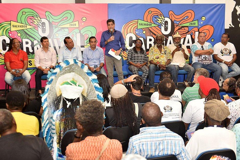Mais de 100 entidades e blocos afros são apoiados pela prefeitura no Carnaval 2020