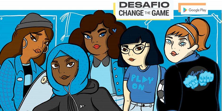 Desafio do Google incentiva garotas de 15 a 21 anos a criar um game