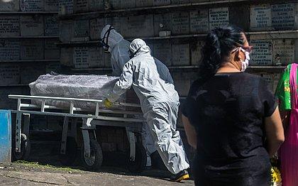 Bahia registra 77 mortes e 2.160 novos casos de covid em 24h