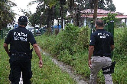 50 policiais participam da reconstituição da morte do miliciano Adriano