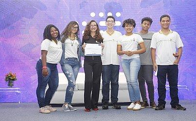 Alunos do Instituto Federal da Bahia (Ifba) levaram o 4º lugar com o Projeto Salvatour