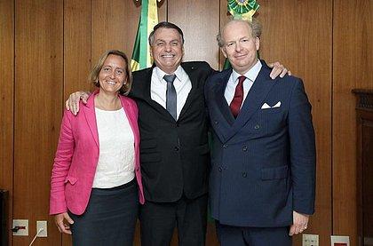 Presidente Bolsonaro recebe no Brasil vice-líder da ultradireita alemã
