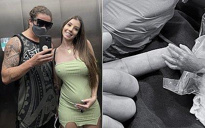 Filho de Whindersson e Maria Lina nasce prematuro: 'que seja forte e insistente'