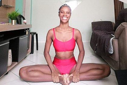 Arielle Reis teve a rotina interrompida pelo isolamento e usa a atividade física como um método para enfrentar ansiedade e depressão