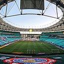 Bahia espera liberação das autoridades para poder contar com a torcida em jogos na Fonte Nova