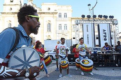 DJ e blocos afro ensaiam parte musical