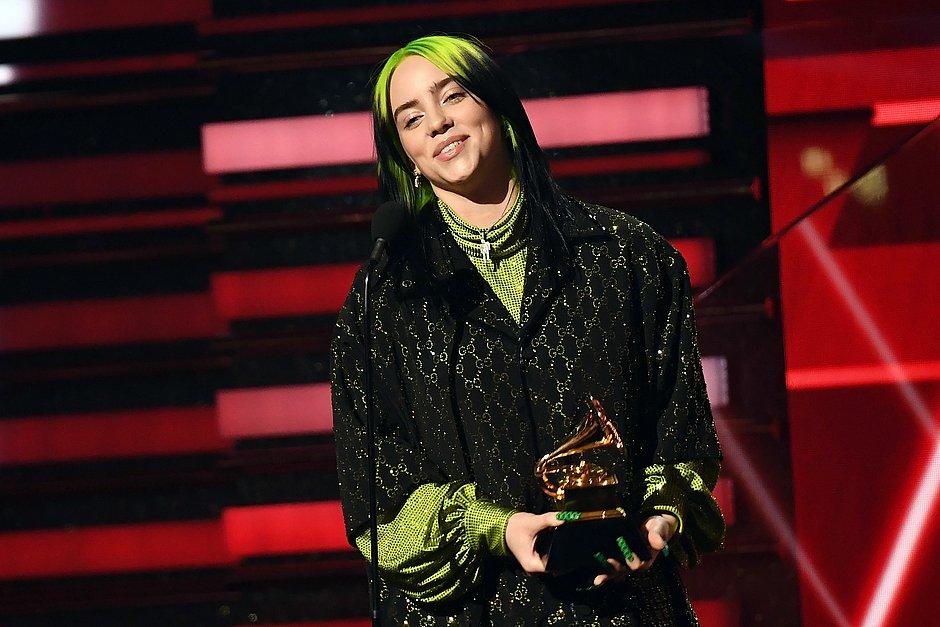 Com mais shows, Grammy consagra Billie Elish com seis prêmios