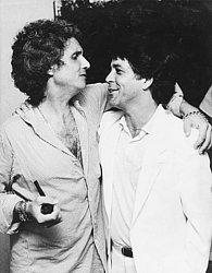 """Com Roberto Carlos, em 1974, """"em momento quase comprometedor de tanto amor"""""""