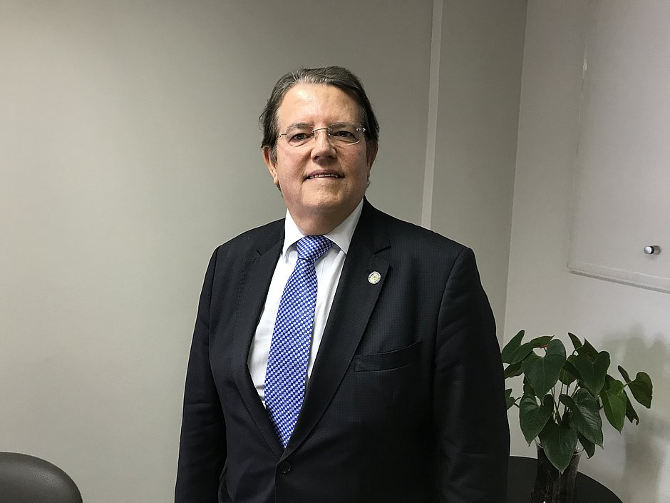 Jatahy Fonseca Junior, presidente do TRE