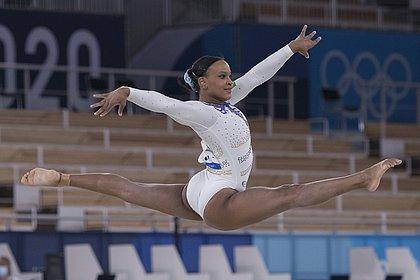 Rebeca Andrade disputa final do individual feminino na manhã de quinta (28)