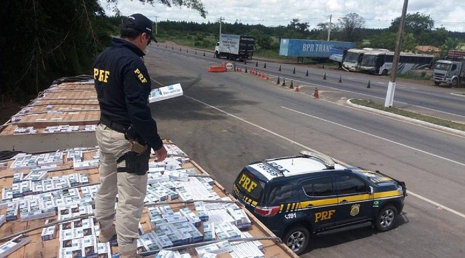 Bahia é porta de entrada para contrabando de cigarros no Norte e Nordeste
