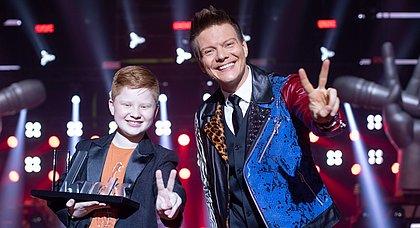 Gustavo Bardim e Michel Teló, que estreou no Kids com vitória