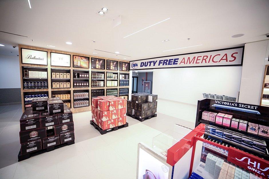 Loja Duty Free é reinaugurada no aeroporto de Salvador para compras internacionais