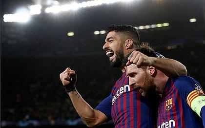 Dupla Suárez e Messi será desfeita nesta temporada: uruguaio deve assinar com Atlético de Madrid