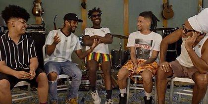 Àttooxxá e Brown se encontraram nos palcos e no estúdio