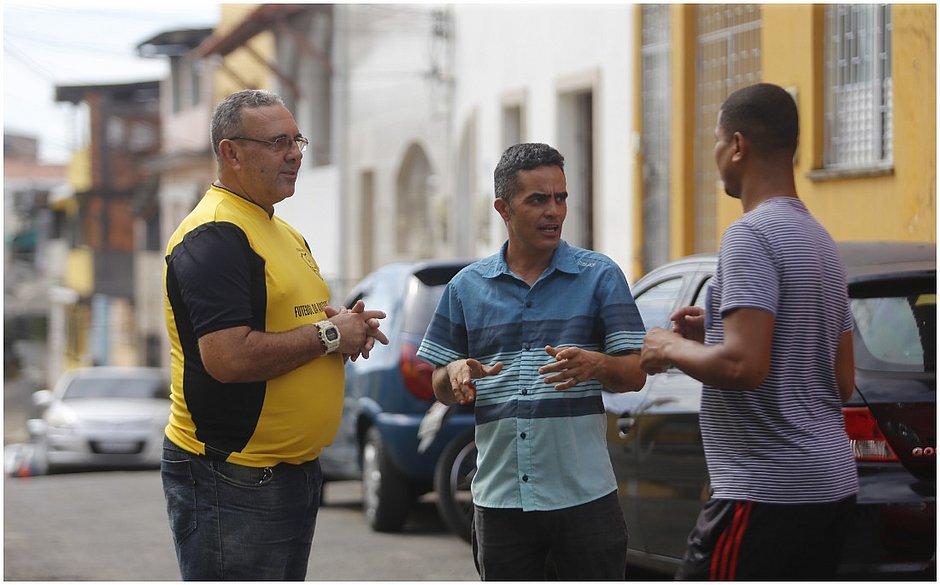 Jânio Sacramento, Nelson Antonio e Gleison Carvalho*