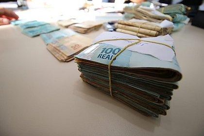 R$ 315 mil foram recuperados com quadrilha