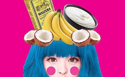 Banana, maisena e creme de leite: comidas hidratam e fortalecem o cabelo
