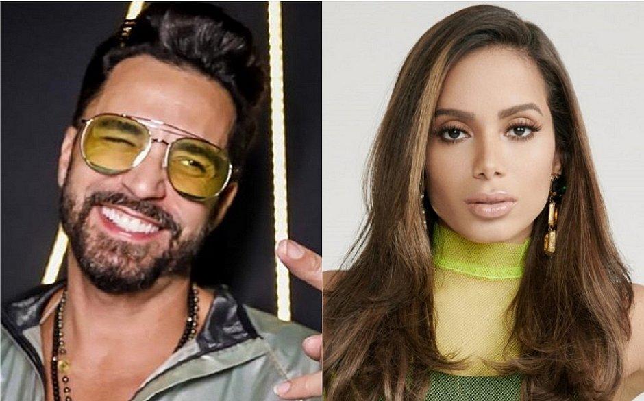 Em áudio vazado, Latino diz que foi humilhado por Anitta: 'Decepção'