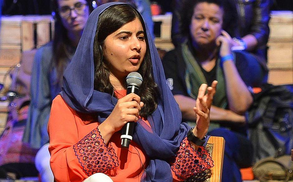 A ativista disse que o empoderamento das meninas vem da educação