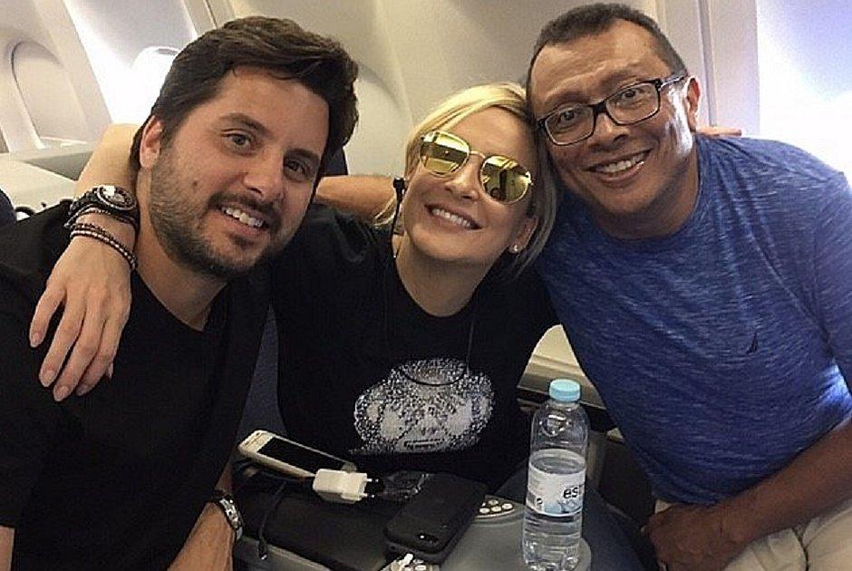 Baú do Marrom: o dia que o avião pifou e fiquei 'preso' com Claudia Leitte e o marido em Portugal