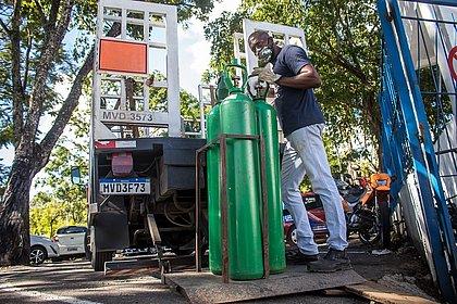 Cidades do interior da Bahia sofrem com falta de oxigênio e já operam no limite