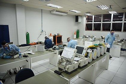 Senai Cimatec já reparou 101 respiradores mecânicos de hospitais baianos
