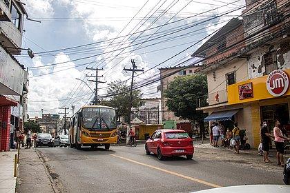 Movimento na Avenida Ulysses Guimarães foi menor que o habitual