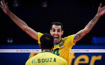 Douglas, do vôlei, celebra sucesso repentino: 'Viralizei do nada'