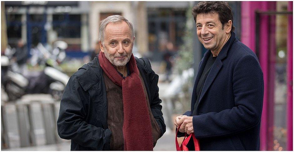 Fabrice Luchini e Patrick Bruel interpretam a dupla de amigos Arthur e César