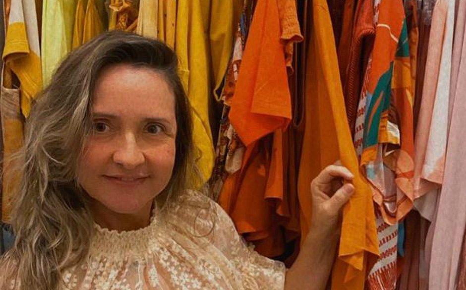 Carla Guarisco reformulou toda a loja física para garantir as finanças e a recepção aos clientes