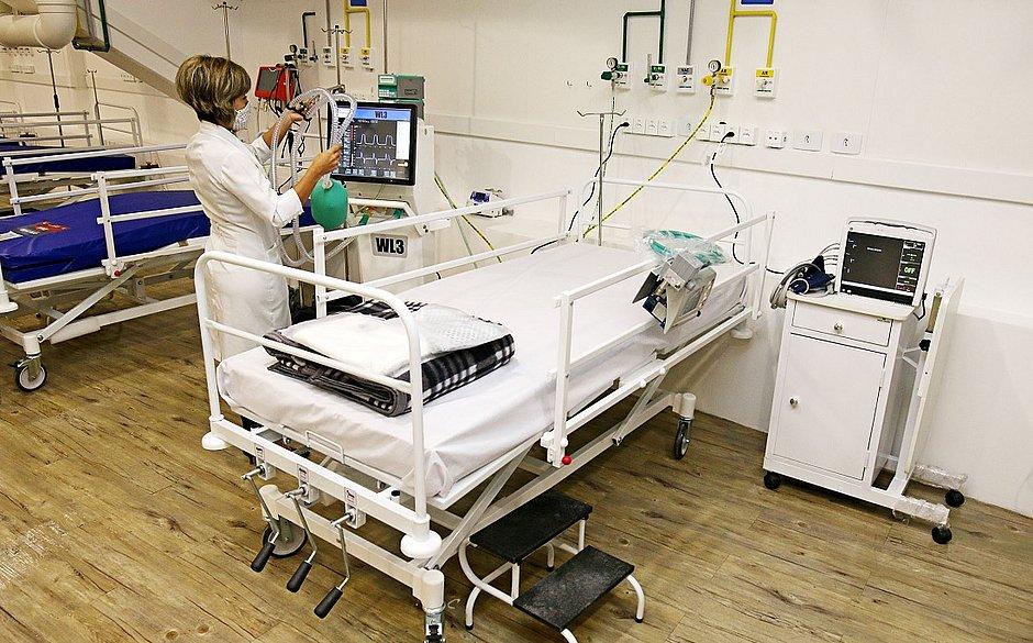 Hospital da Fonte Nova começará a receber pacientes com covid-19 nesta sexta-feira (5)