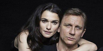 Aos 48 anos, Rachel Weisz está grávida de Daniel Craig, o 007