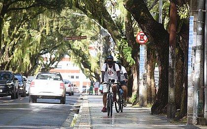 Para que as bikes pudessem circular com segurança, a Prefeitura investiu na infraestrutura cicloviária da cidade