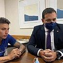 Por meio virtual, Ramírez foi ouvido pelo STJD
